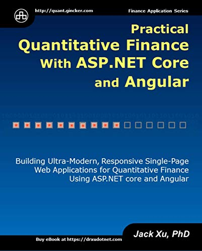 Practical Quantitative Finance with ASP.NET Core and Angular