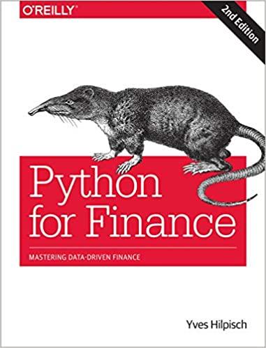 Python for Finance – 2nd Ed.