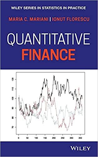 Quantitative Finance (Statistics in Practice)