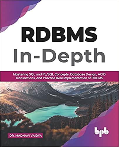 Relational Database Management Systems (RDBMS) In-Depth